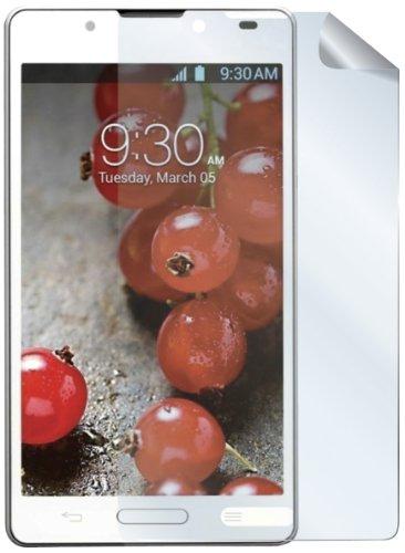 Celly Brillant Film de Protection d'écran pour LG Optimus L4 II (Lot de 2)