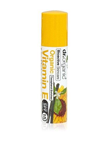 Dr. Organic Vitamine E Baume pour les Lèvres 5,7 ml
