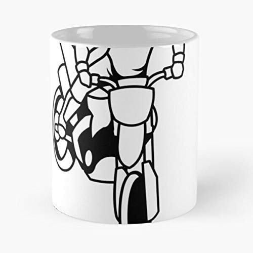 Quote Sport Motorcycles Gear Quotes Biker Motorcycle Eat Food Bite John Best 11 Ounce Ceramic Coffee Mug