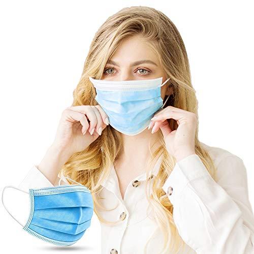 Supple by Demel Augenoptik NEU: 100 Stück + 10 Stück GRATIS Mundschutz Medizinisch – CE Zertifiziert (110 Stück Med).