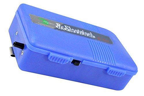 Timiy Operated Portable Aquarium Battery Backup Air Pump Emergency (Blue)