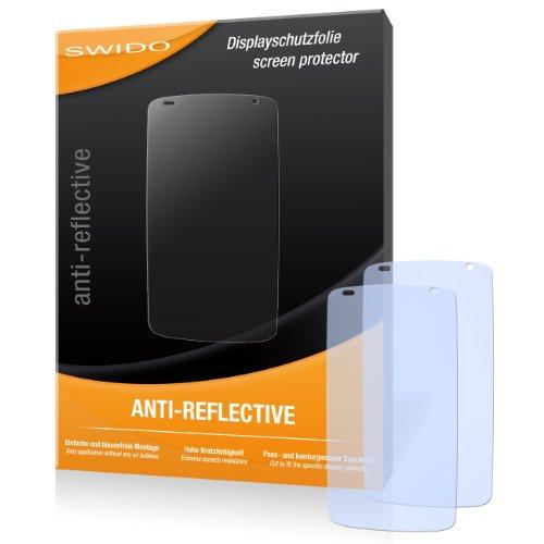 SWIDO Bildschirmschutz für HTC Desire 500 [4 Stück] Anti-Reflex MATT Entspiegelnd, Hoher Festigkeitgrad, Schutz vor Kratzer/Glasfolie, Schutzfolie, Bildschirmschutzfolie, Panzerglas Folie