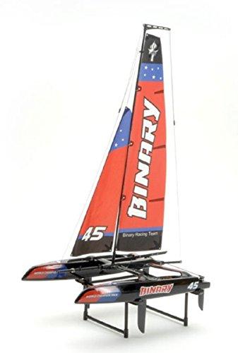 Joysway Binary 400mm Mini Catamaran Sailboat 2.4GHz RTR RC Boat