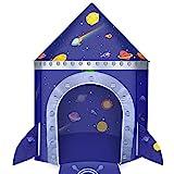 joylink Tenda da Gioco, Tenda del Castello per Bambini Tenda Casetta Tenda Portatile per Bambini Casetta dei Giochi per Interni ed Esterni Regalo per Bambini, Blu