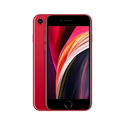Apple iPhone SE, 64GB, Red - Fully Unlocked (Renewed) from Apple Computer