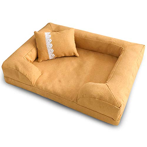 ZISTA Katten voor honden en katten, voor puppy's en bed, klein, medium, hondenhouse, warme loungermatten, voor honden, bed