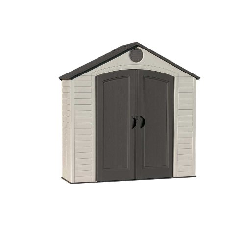 Hot Sale Lifetime 6413 8-by-2-1/2-foot Outdoor Storage Shed