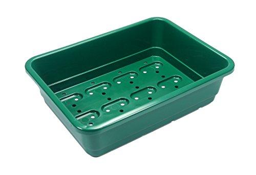 Britten & James® Mini Professional Saatschalen. 10 Plus 2 KOSTENLOS. Dieses 22,5 cm x 16 cm große Mini-Tablett ist ideal für kleinere Mengen von Samen oder für eine schmale Fensterbank.