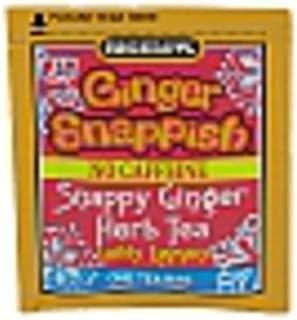 Bigelow Ginger Snappish Herbal Tea with Lemon - Case of 160