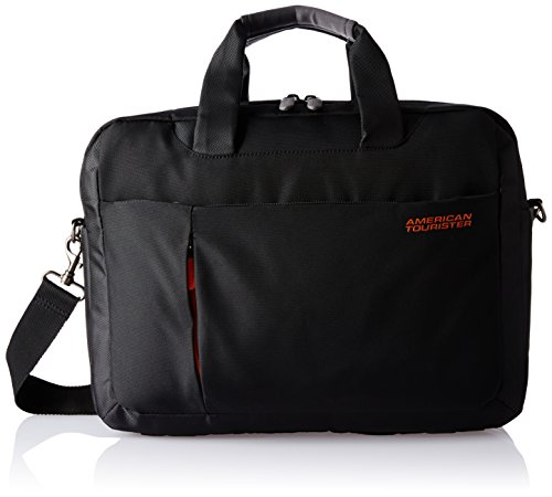 American Tourister Activair Polyester 21 Ltrs Black Laptop Backpack (56T (0) 09 006)