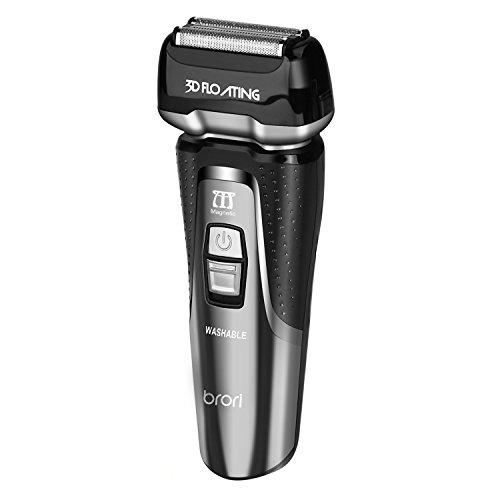 INSMART Electric Razor for men, Waterproof Wet/Dry USB Qiuck...