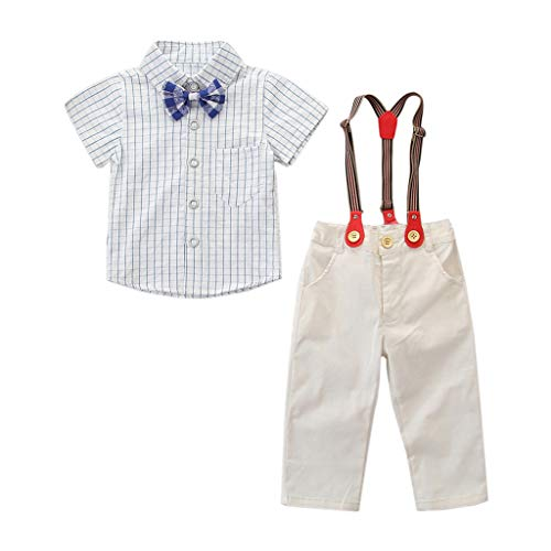 Buy Bargain Boys Set (1T-6T) Ikevan Toddler Kids Baby Boys Outfit Clothes Bow Tie Shirt+Pants Gentle...