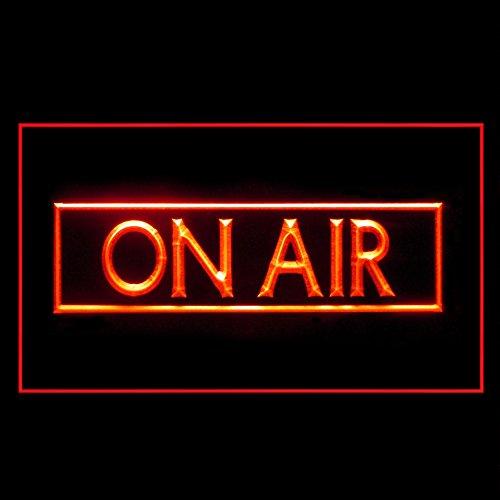 On Air Recording Studio Music Banner Hot Media LED Light Sign 140017r