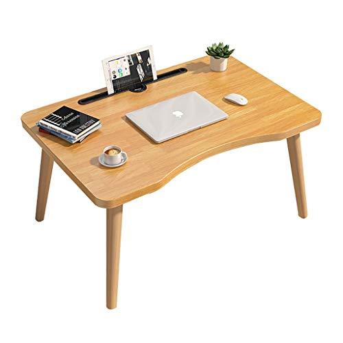 Escritorio de la computadora, la casa japonesa (H30 / 35 cm) bajo la mesa, la sala de estar de una pequeña mesa de café, mesa de estudio con una ranura for tarjetas ( Color : A , Size : 60X40X30CM )