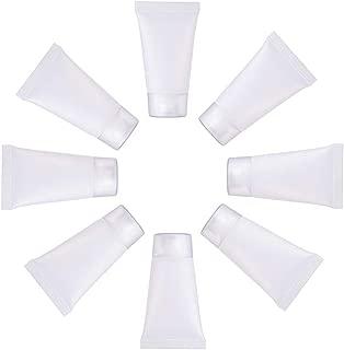 BENECREAT 30個入り15mlクリアプラスチックチューブ 小分けボトル 携帯詰め替え容器 バス用品ボトル 携帯易い 化粧品小分け容器 シャンプーボトル