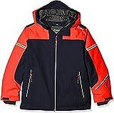 CMP Jungen Skijacke 39W1874 Jacke, Black Blue, 152 (XL)