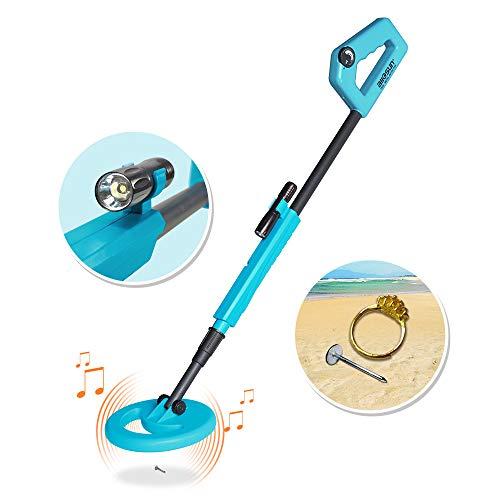 allsun Handheld Metal Detector Junior Kids Education Exploration DIY Toy Color Blue Exploration Nature Toys