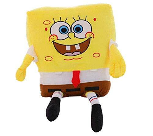 Sponge Bob Knuffel 40 Cm, Gevulde Zachte Anime Cosplay Pop, Kinderen Baby Speelgoed Cartoon Figuur Pluche Kussen Kussen Verjaardagscadeau