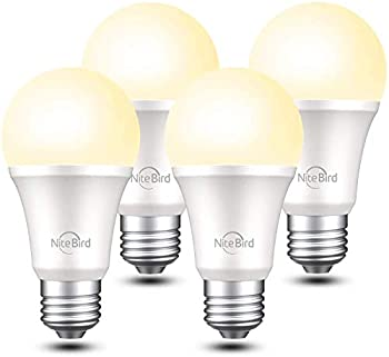 4-Pack Smart Light Bulb Works with Alexa and Google Home