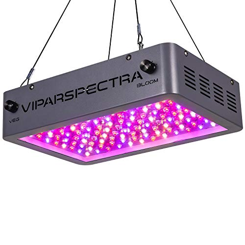 VIPARSPECTRA Newest Dimmable 1000W LED Grow Light, with Bloom and Veg Dimmer, with Daisy Chain, Dual Chips Full Spectrum LED Grow Lamp for Hydroponic Indoor Plants Veg and Flower(10W LEDs 100Pcs)