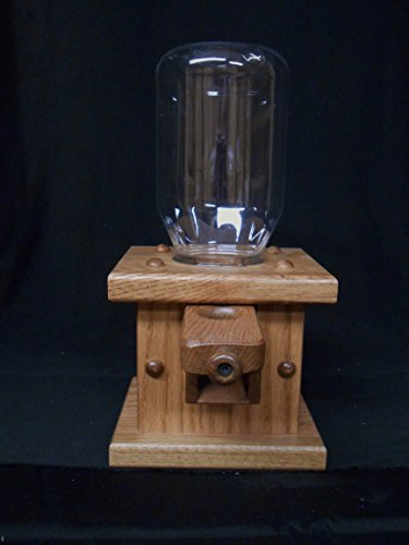 Great Features Of Candy Dispenser Gum Ball Machine Bubble Gum Solid Oak Amish Provincial Stain