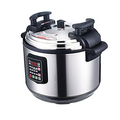 LLSL Fornello a Pressione elettrica da 15L, fornello Lento, fornello di Riso - Padella Antiaderente Senza Rumore, per Cucinare Riso/stufato/Osso/Cottura Riso/Porridge/zuppa/Fagioli/a Vapore