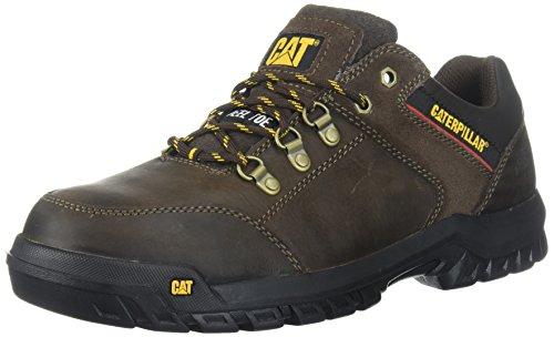 Caterpillar Men's Extension Steel Toe Industrial Shoe, Brown, 13 W US