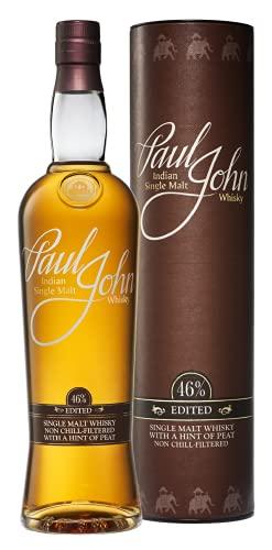 Paul John EDITED Indian Single Malt Whisky 46% Vol. 0,7l in Giftbox