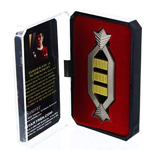 Star Trek Spock Captain Authentic Rank...