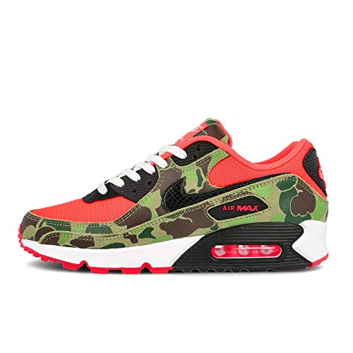 Nike Air Max 90 SP Sneaker (Infrared/Black, Numeric_36_Point_5)