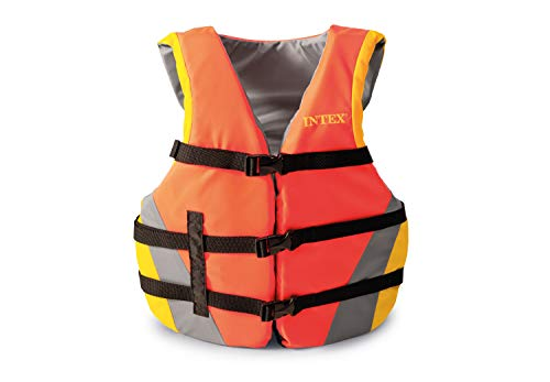 Intex Chaleco salvavidas, Naranja, 40 Kg
