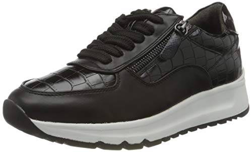 Jana Softline Damen 8-8-23763-25 Sneaker, Black, 40 W EU