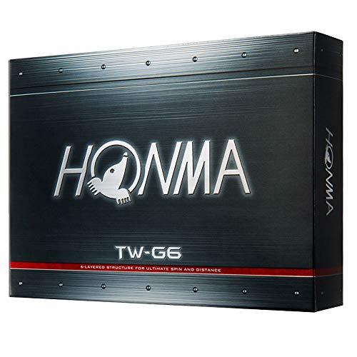 Honma TW-G6 Golf Balls 1 Dozen White