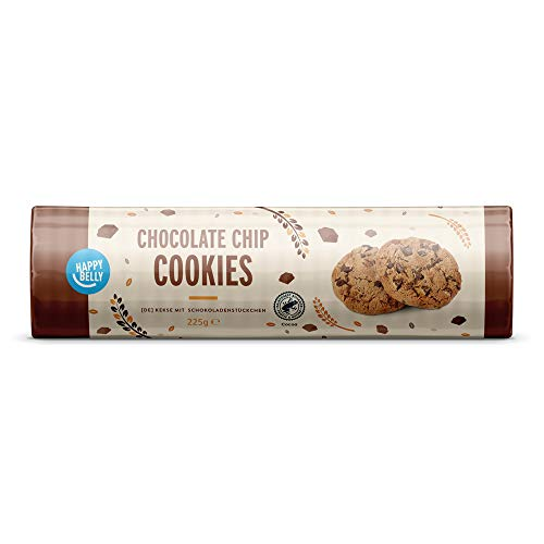 Amazon Brand - Happy Belly Chocolate Chip Cookies 6x225g