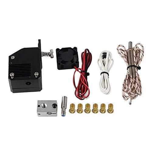 WY-YAN Zubehör, Dual-Gang-NF Allmetall Extruder Bowden Dual Drive V6 Extruder Kit for Prusa I3 3D-Drucker Drucker