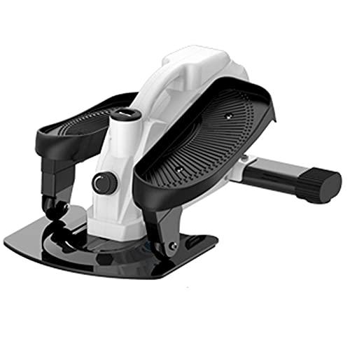 Mini Máquina Elíptica con Pedal Antideslizante, Monitor De Pantalla Y Resistencia Ajustable.Mini Equipo De Ejercicio Sentado TDD