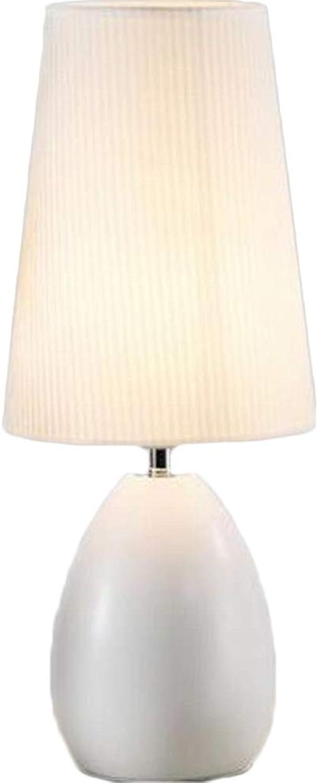 Light Nordic Nachttischlampe Schlafzimmer Tischlampe, warme dekorative Tischlampe Schlafzimmer Nachttischlampe, Hochzeit kreative europäischen Stil Tischlampe B07HSP8HTW | Trendy