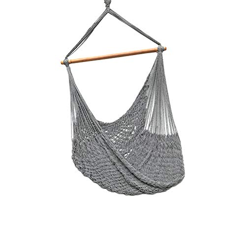Handmade Hanging Hammock Chair with Spreader Bar for Yard, Bedroom, Porch, Indoor/Outdoor, HCR-25