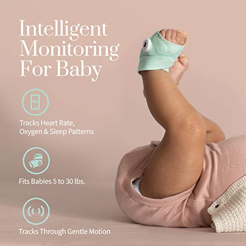 Owlet Duo Smart Baby Monitor with HD Video, Oxygen, and Heart Rate