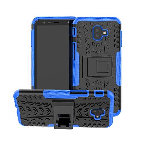 CaseExpert Samsung Galaxy J6 Plus Custodia Cover, Resistente alle Cadute Armatura dell'impatto Robusta Custodia Kickstand Shockproof Protective Case per Samsung Galaxy J6+ / J6 Plus
