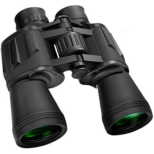 AAFLY 10 x 50 prismáticos para Adultos, BAK-4 Porro FMC HD Profesional Impermeable a la abrasión de Goma prismáticos para la...