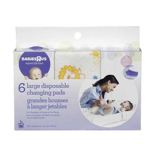 Babies R Us Disposable Pads - Large - 6 Pack