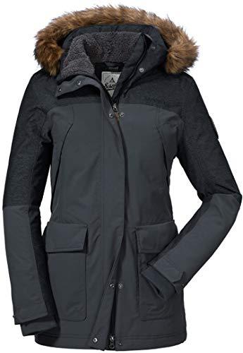 Schöffel Damen Jacket Insulated JackenAsphalt44 Tingri1 dCxoWreB