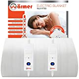 Wärmer King Electric Blanket, 203 X 152cm, Fully Fitted Mattress Cover with 3