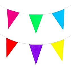 Rainbow String Banner for Decoratiing, Birthdays, Event Supplies, and Festivals