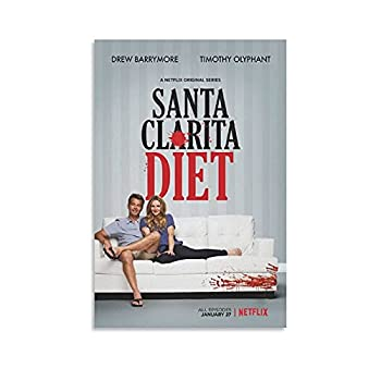 Santa Clarita Diet TV Show Poster 21mnj Poster Decorative Painting Canvas Wall Art Living Room Posters Bedroom Painting 08x12inch 20x30cm