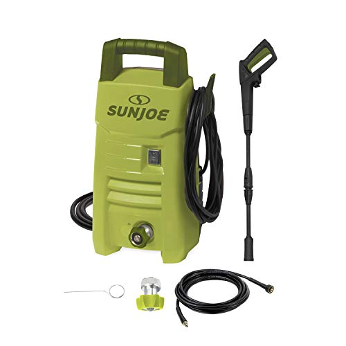 compact ga pressure washers Sun Joe SPX206E 1600 PSI 1.45 GPM Max Compact Electric Pressure Washer, w/Variable Tip Lance