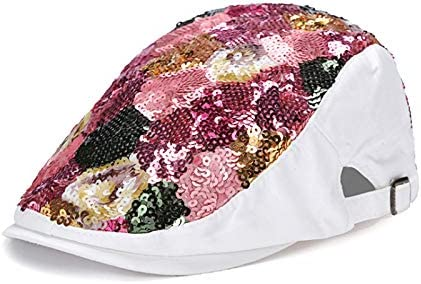 Hat Surprise price Women Spring and Autumn Korean Flower Sequins Fashion Don't miss the campaign Beret