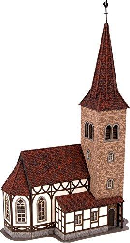 NOCH 66906 - Spielwaren, Kirche St. Georg mit Micro-Sound Glockenläuten