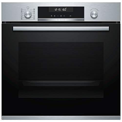 Bosch Serie 6 HBG5780S0 – Mejor horno pirolítico con calentamiento instantáneo
